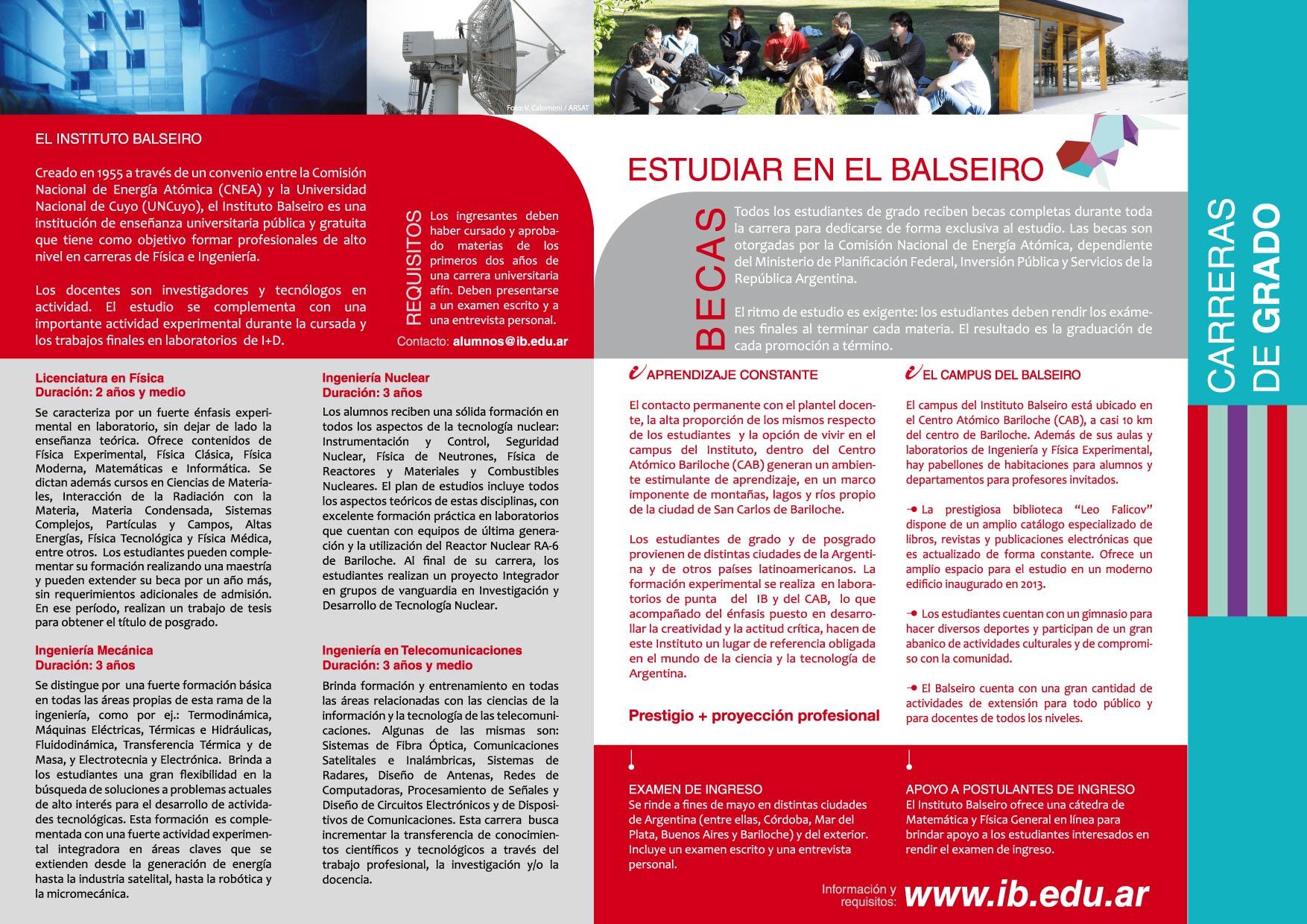 El Instituto Balseiro, presente en dos Expos universitarias