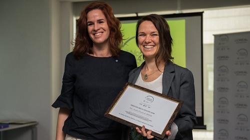 Analía Zwick recibió una Mención en la edición de 2018 del Premio L`Oreal-UNESCO. Crédito Gentileza CONICET