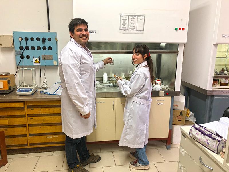 Daniela Valdés con Enio Lima Jr. Crédito Gentileza.