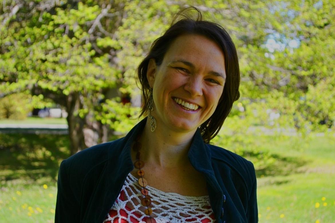 La Dra.  Analía Zwick vive en Bariloche desde 2016, luego de formarse en Córdoba y en el exterior. Crédito Laura García Oviedo / Prensa IB.